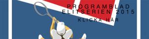 Programblad Elitserien