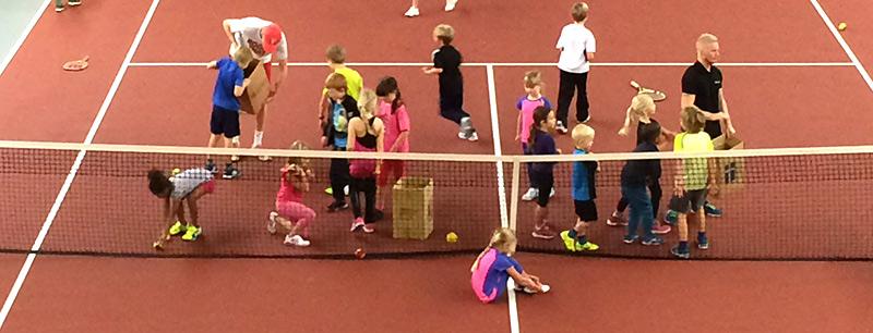 Träning i Helsingborgs Tennisklubb