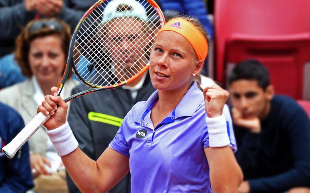 Johanna kvartsfinalist i Båstad